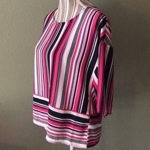 W5, Anthropologie Striped Blouse